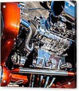 Drag Queen - Hot Rod Blown Chrome  Acrylic Print