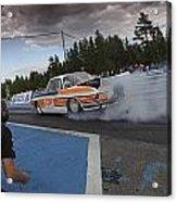 Drag Racing 3 Acrylic Print