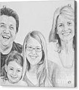 Dragojlovic Family Acrylic Print