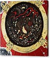 Dragon At The Senso-ji Temple Acrylic Print