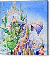 Dragon Castle Acrylic Print