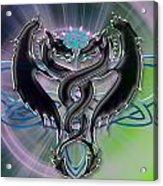 Dragon Duel Series 18 Acrylic Print