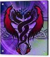 Dragon Duel Series 19 Acrylic Print