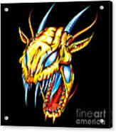 Dragon Head Acrylic Print