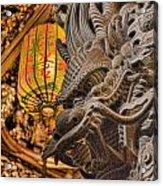 Dragon Acrylic Print by Karen Walzer