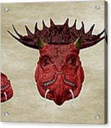 Dragon King Acrylic Print