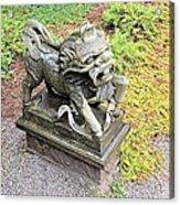 Dragon Of The East Acrylic Print