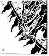 Dragon Sun Acrylic Print