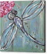 Dragonfly Baby Acrylic Print