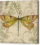 Dragonfly Daydreams-a Acrylic Print