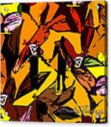 Dragonfly Man   Acrylic Print