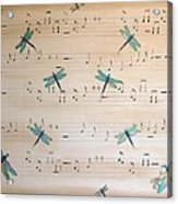 Dragonfly Symphony Acrylic Print