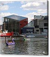 Dragoon Boats - Baltimore Inner Harbor Acrylic Print