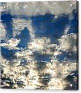 Drama Cloud Sunset I Acrylic Print