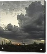 Drama In The Sky Acrylic Print