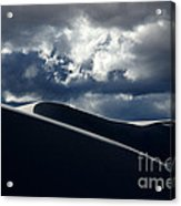 Drama Of The White Sands Acrylic Print