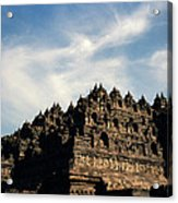 Dramatic Ancient Borobudur  Acrylic Print