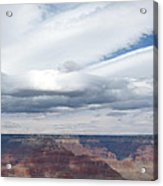 Dramatic Clouds Over The Grand Canyon Acrylic Print