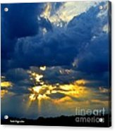 Dramatic Clouds Acrylic Print
