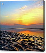 Dramatic Dawn Acrylic Print