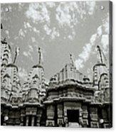 The Jain Temples Acrylic Print