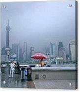 Dramatic Shanghai Acrylic Print