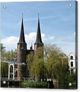 Drawbridge - Delft - Netherlands Acrylic Print