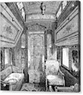Drawing-room Car, 1869 Acrylic Print