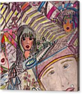 Drawings Acrylic Print
