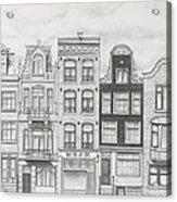 Drawn To Amsterdam Acrylic Print