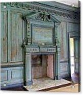 Drayton Hall Interior 1 Acrylic Print