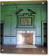 Drayton Hall Interior 3 Acrylic Print