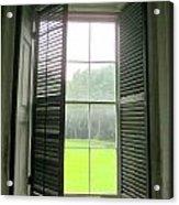 Drayton Interior Window 1 Acrylic Print