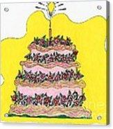 Dream Cake Acrylic Print