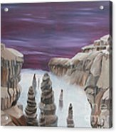 Dream Canyon Acrylic Print
