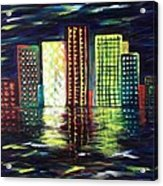 Dream City Acrylic Print
