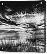 Dream Of Better Days-bw Acrylic Print