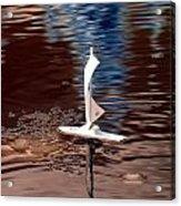 Dream Of Sailing Acrylic Print