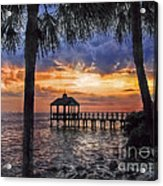 Dream Pier Acrylic Print