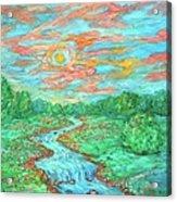 Dream River Acrylic Print
