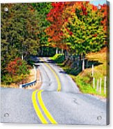 Dream Road Acrylic Print