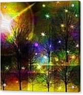 Dream Time In The Park Acrylic Print by Sydne Archambault