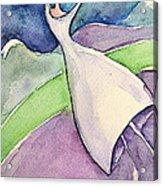Dreaming Girl II Acrylic Print