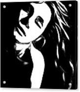 Dreaming Girl Acrylic Print
