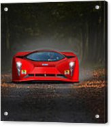 Dreaming In Rosso Corsa... Acrylic Print