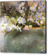 Dreaming Of Forget-me-nots Acrylic Print