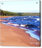 Dreaming Of Lake Superior Acrylic Print