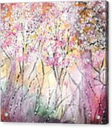 Dreaming Of Spring Acrylic Print