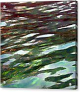 Dreaming On The Water Acrylic Print