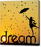 Dreaming Acrylic Print by Tim Gainey